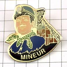 ピンバッジ・鉱山の坑夫