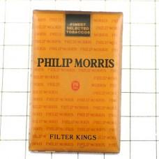 ピンバッジ・フィリップモリス煙草の箱