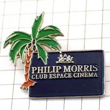 ピンバッジ・フィリップモリス煙草やしの木