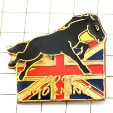 ピンズ・グッドモーニング馬ユニオンジャック英国イギリス国旗