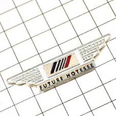 ピンズ・エールフランス航空CA見習いキャビンアテンダント翼