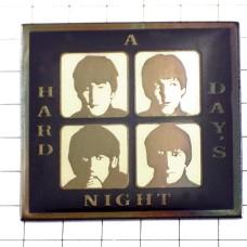 ピンバッジ・ビートルズ『A Hard DaysNight』アルバムジャケット音楽