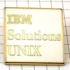 ピンバッジ・IBMソリューション/アイビーエム社