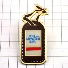 ピンズ・旅行かばんのネームタグ札