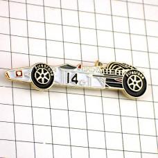 ピンバッジ・ホンダF1レース車ファイヤーストーン14