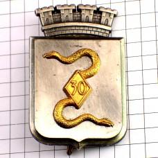 ブローチ・ヘビ金色の蛇ミリタリーフランス軍