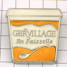 ピンバッジ・ミルク製品フェッセルチーズ容器