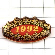 ピンバッジ・王冠ガレットデロワ百合の紋章
