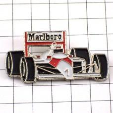 ピンバッジ・マルボロF1ホンダ「1」アイルトンセナ車