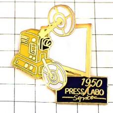 ピンズ・古い映写機プロジェクター写真の歴史