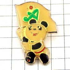 ピンズ・北京アジア競技大会パンダのパンパン旗マスコット