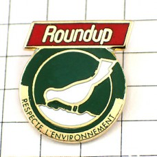 ピンズ・白い鳥エコロジー環境保護