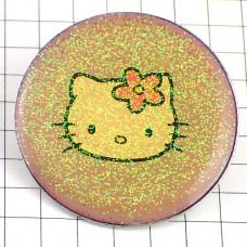 ブローチ・キティちゃん猫サンリオ丸型