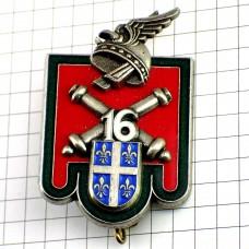 ブローチ・第16砲兵隊フランス軍ミリタリー
