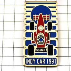 ピンズ・インディ自動車レース赤スコッチ社インディアナポリス/USA