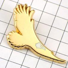 ピンズ・鷲イーグルわしゴールド金色