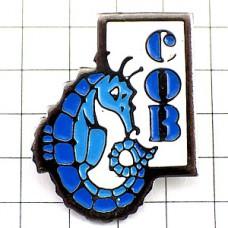 ピンズ・ブルー青いタツノオトシゴ龍辰竜