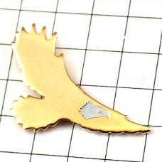 ピンズ・金色イーグル鷲ワシ鳥