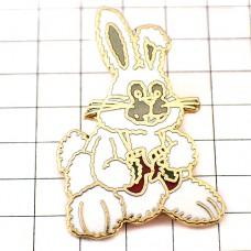 ピンズ・白いウサギのぬいぐるみクリスマス贈物