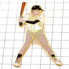 ピンバッジ・野球のバッター選手