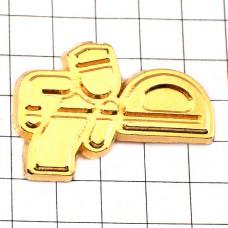 ピンズ・パン屋さんの釜入れゴールド金色