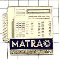 ピンズ・白い電話機マトラ社
