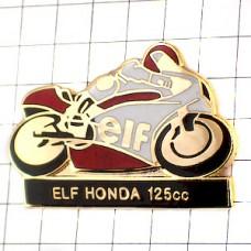 ピンズ・ホンダ125ccレースバイク二輪エルフ石油