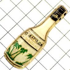 ピンバッジ・ココナッツのお酒やしの木ボトル型