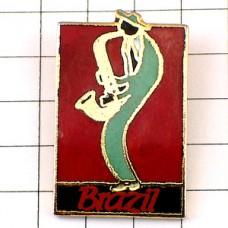 ピンズ・サックス奏者ブラジル音楽ジャズ楽器