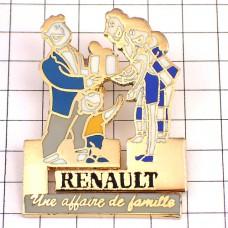 ピンズ・ルノー車パズル型プレゼント家族
