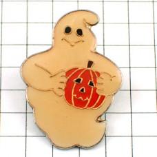 ピンズ・ハロウィンのかぼちゃパンプキン南瓜とお化け