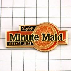 ピンズ・ミニッツメイド飲物オレンジジュース果物