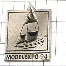 ピンズ・モデルエキスポ1994ボート船ヨット帆船