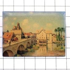 ピンズ・シスレー画モレ=シュル=ロワンの橋