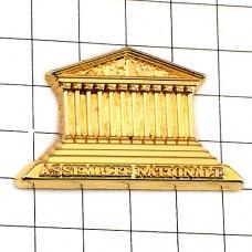 ピンズ・フランス国民議会ブルボン宮殿ゴールド金色