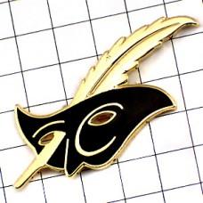 ピンズ・金色の羽根と黒い仮面カーニバル祭