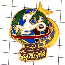 ピンズ・星占い山羊座やぎ座三日月星地球