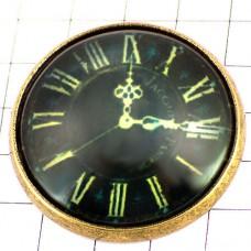 ピンズ・New!ローマ数字の時計