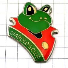 ピンズ・カエル緑色の蛙
