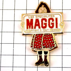 ピンズ・マギー水玉スカートの女の子