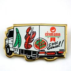 ピンズ・車トラック冷凍食品サヤエンドウやロブスター伊勢海老