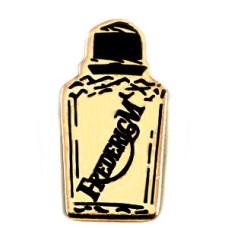 ピンズ・香水壜ゴールド金色ボトル型
