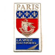 ピンズ・パリ百合の紋章セーヌ川の帆船