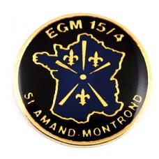 ピンズ・機動憲兵隊ミリタリー百合の紋章フランス地図型