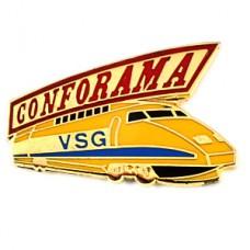 ピンズ・TGVフランス新幹線トレイン鉄道車両