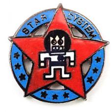 ピンズ・スターシステム赤い星