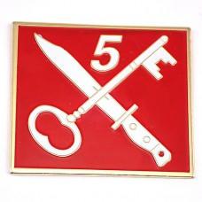 ピンズ・カギ鍵とナイフと5番