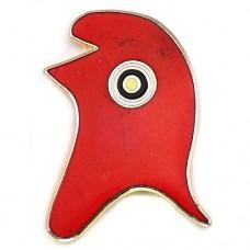 ピンバッジ・フランス共和国シンボル円形章赤いフリジア帽子