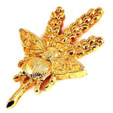 ピンバッジ・ヤードレイ香水ロンドン英国ゴールド金色