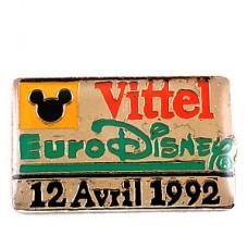 ピンズ・ユーロディズニー開園日ミッキーマウス1992年